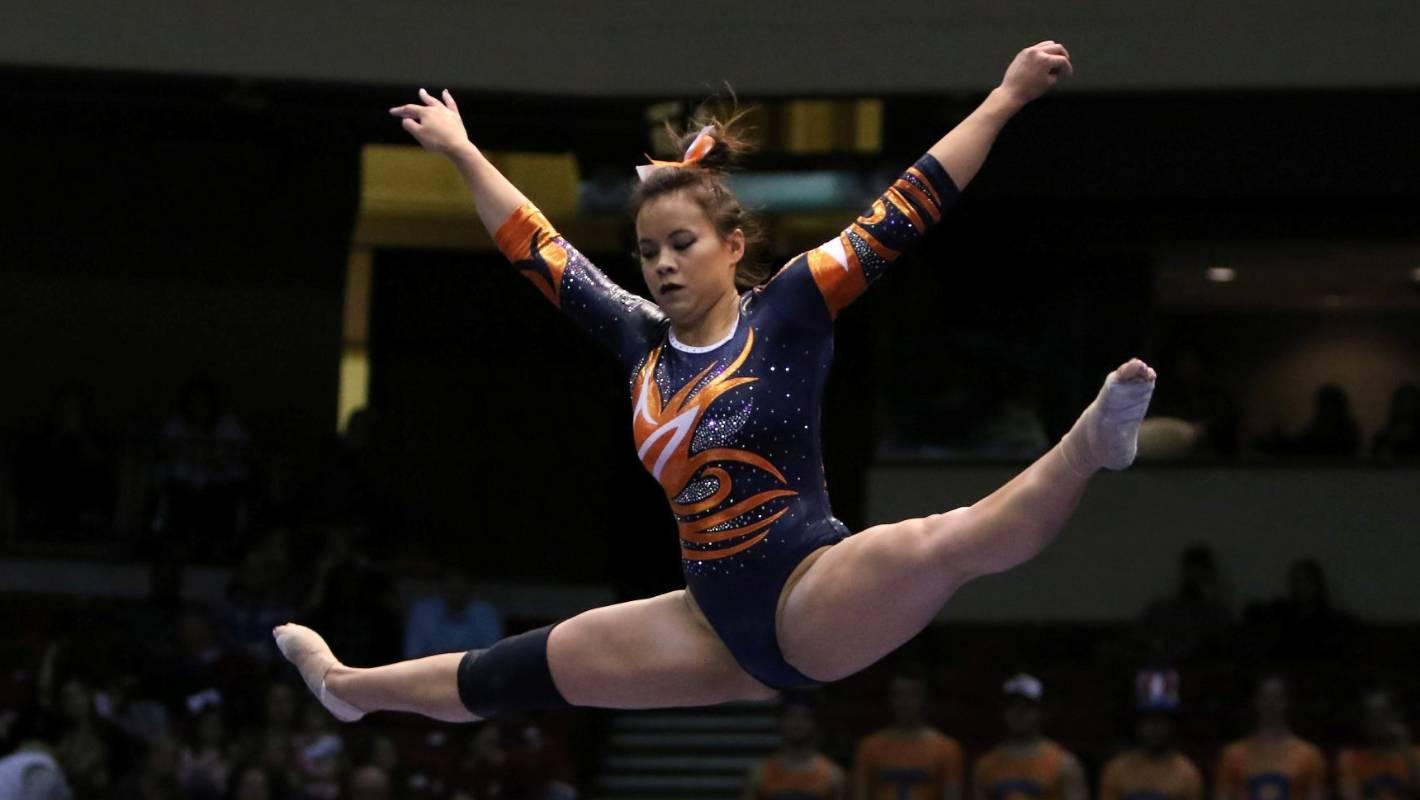 Star Auburn Gymnast Breaks Both Legs In Horror Fall