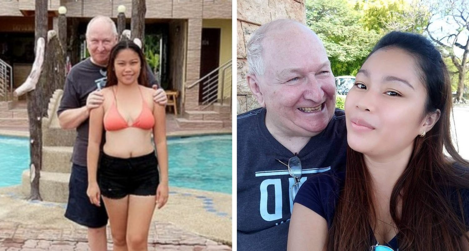 Love Story Of This Filipino Lady And British Man Despite Having A 48-year Age Gap Is Goals