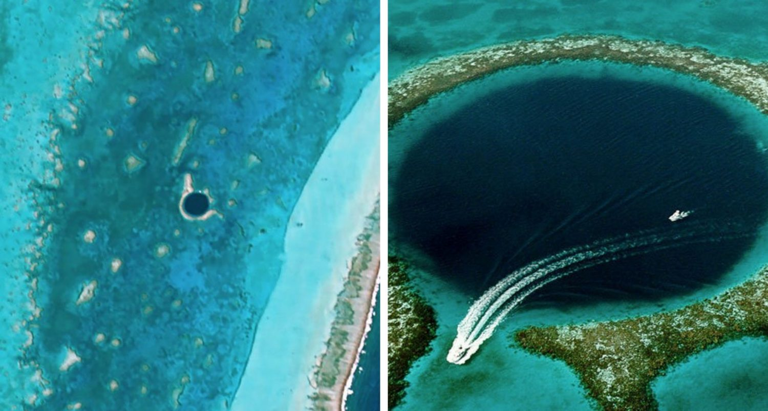 Divers Discover What's At Bottom Of Mysterious Great Blue Hole In Belize