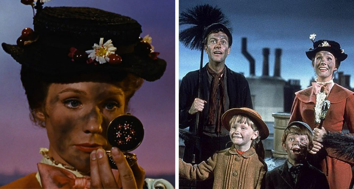 Mary Poppins Has Been Called Racist Because Of Its 'blackface' Scene