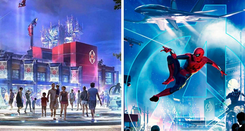 Disneyland $14 Million Marvel Expansion To Open In 2020