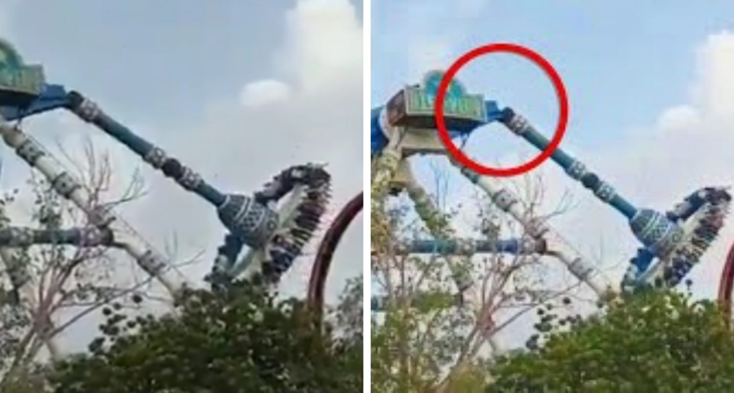 Two Dead, Dozens Injured After A Pendulum Ride Snaps In Half Mid-air At Theme Park