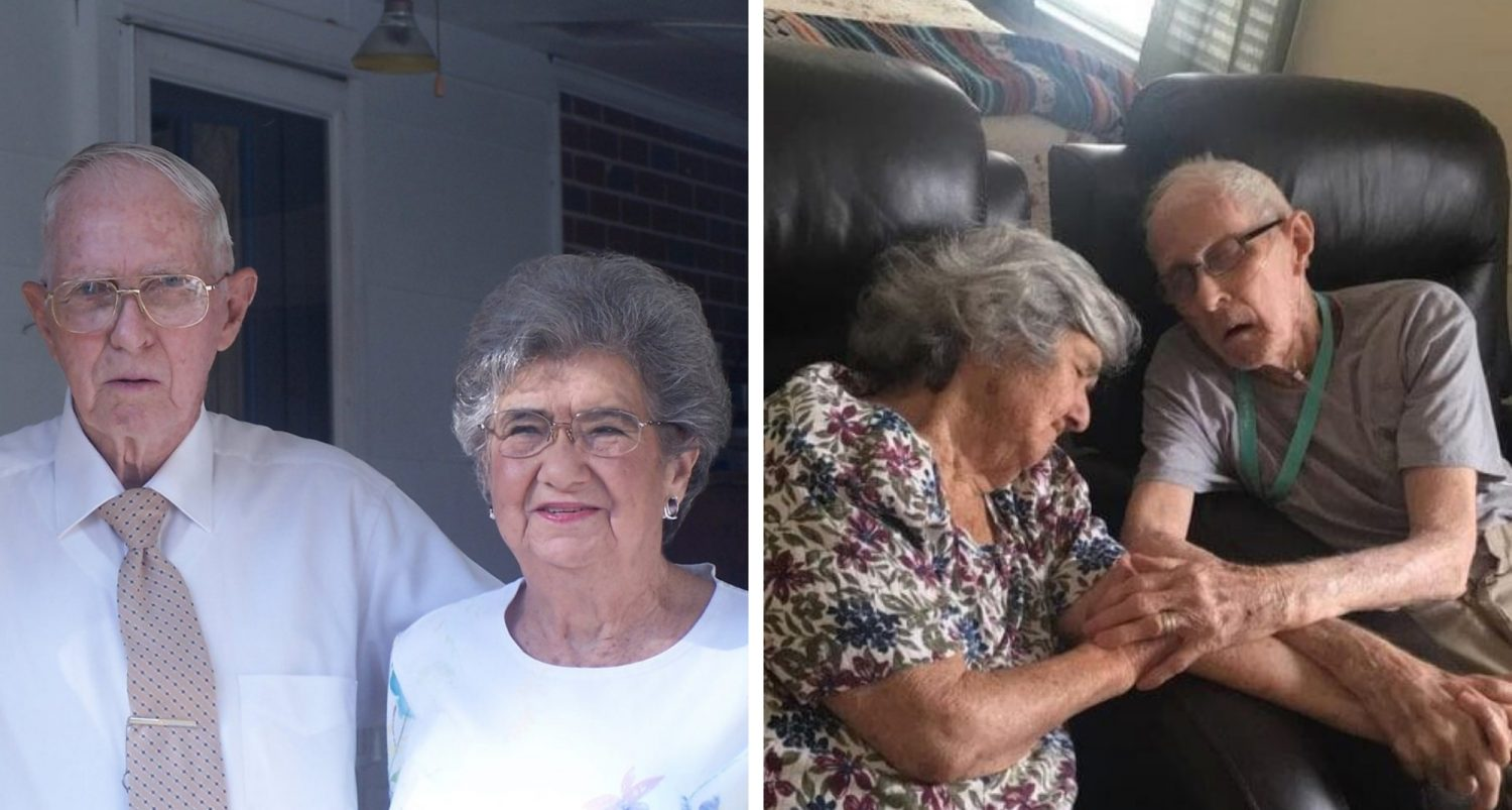 """""""together In Heaven:"""" Husband And Wife Married For 71 Years Die On The Same Day, Exactly 12 Hours Apart"""
