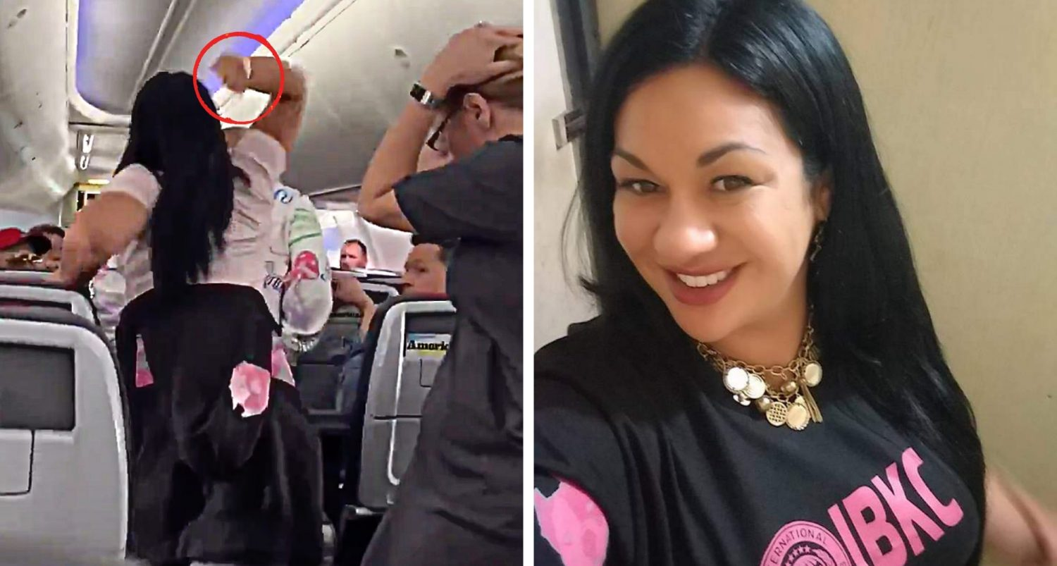Jealous Woman Smashed Her Boyfriend's Head With A Laptop For Staring At Another Woman On A Plane