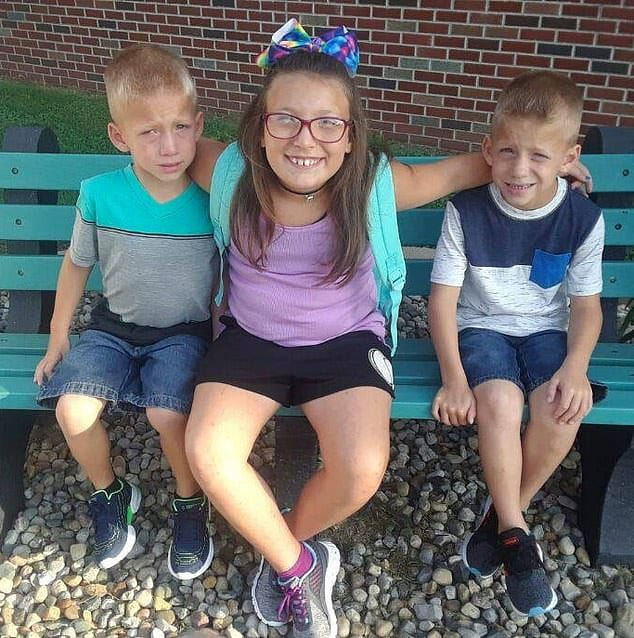 9-Year-Old Tried To Save Her Twin Brothers Before All Three Were Mowed Down While Boarding A School Bus