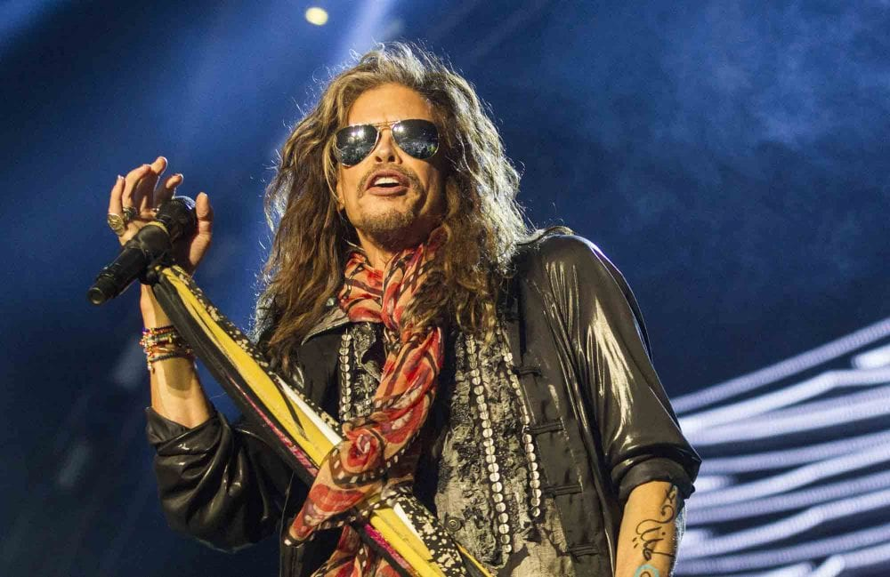 Aerosmith's Steven Tyler Helps Open Janie's House To Help Abused Girls