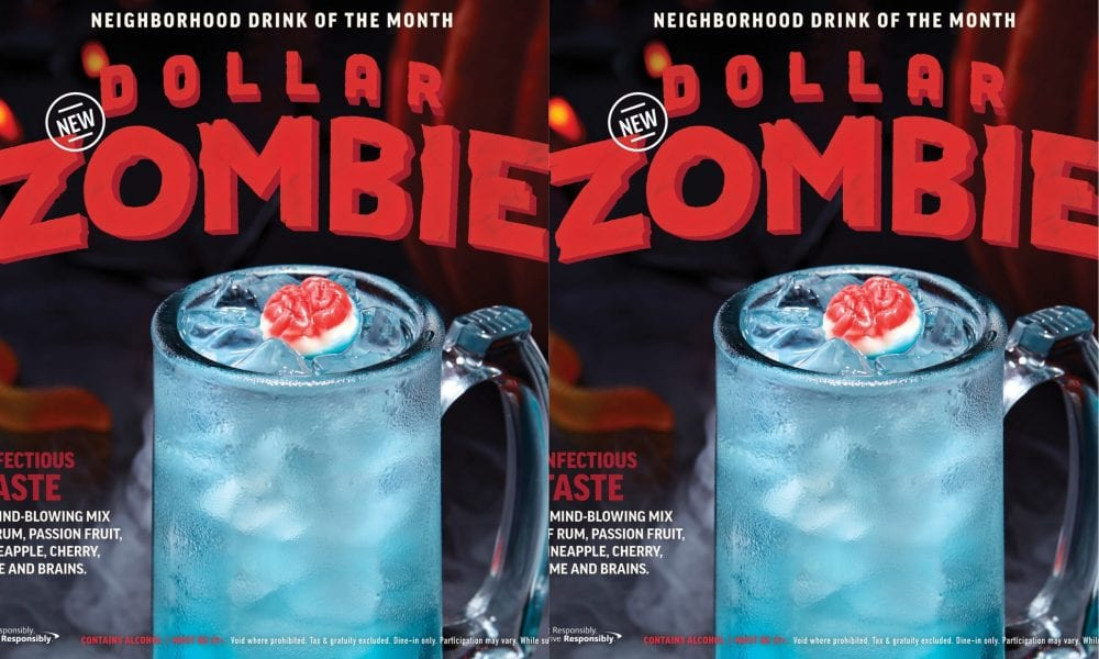 applebee's dollar zombies are available all through october — here's what they taste like
