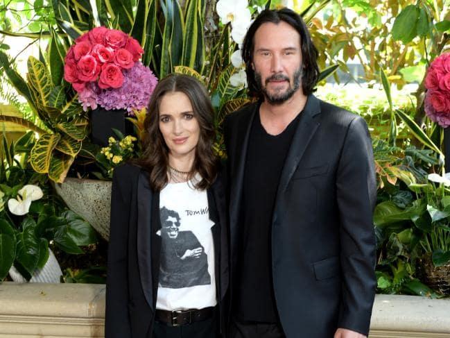 Keanu Reeves Says Winona Ryder Calls Him 'husband'
