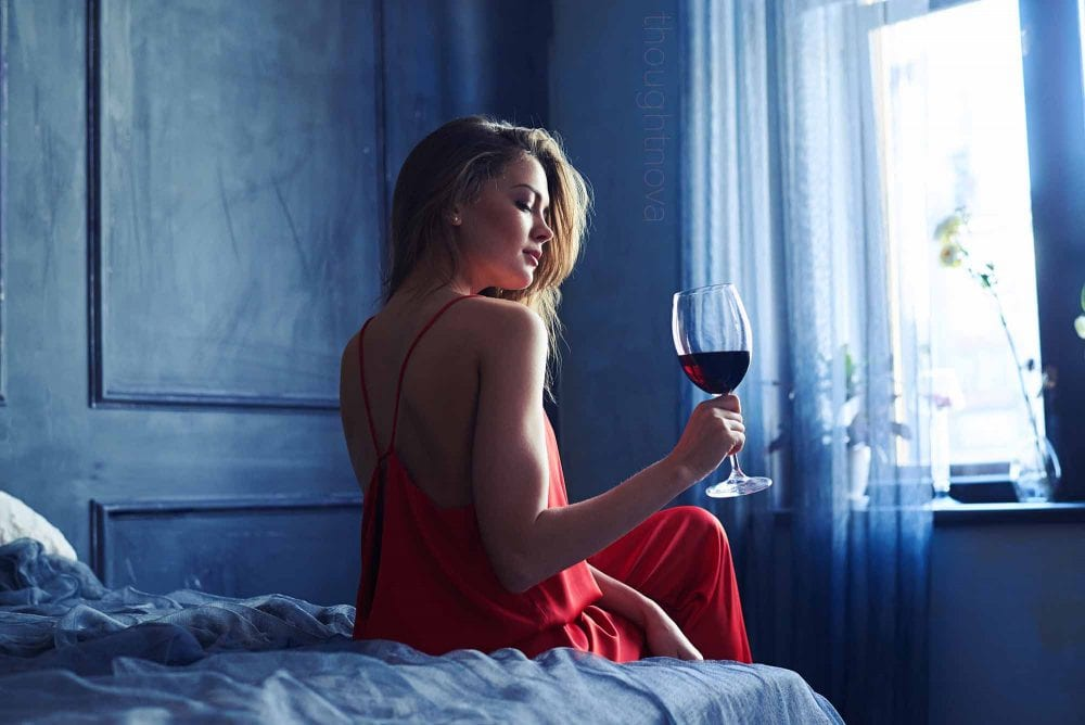 New Research Says Wine Before Bed Makes You Lose Weight