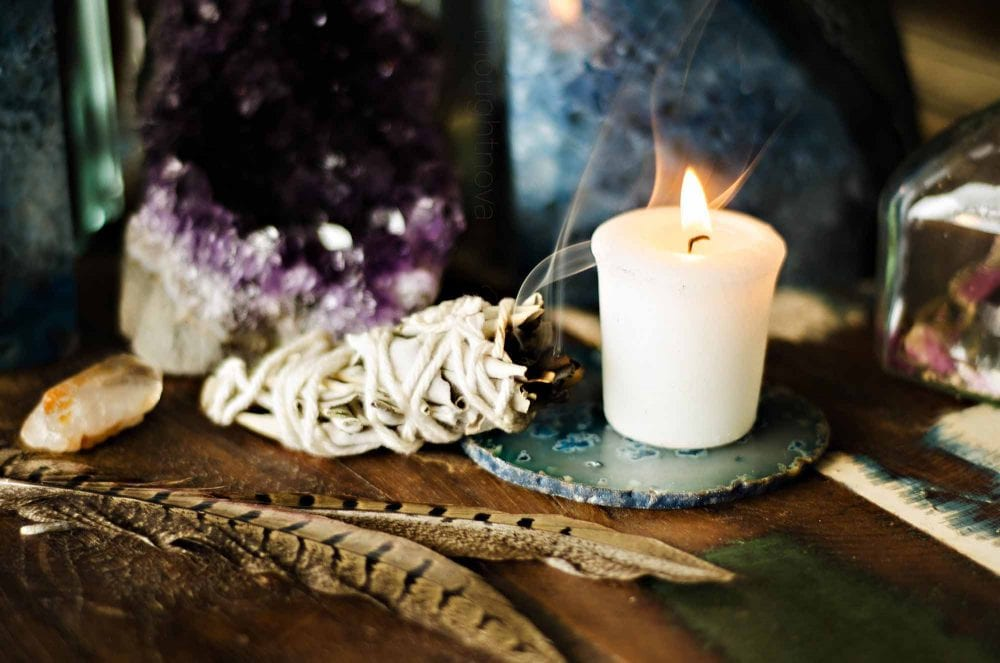 Scientists Back Ap The Ancient Art Of Smudging: It Clears The Air Of Bacterial Microbes And Lightens Unhappy Moods