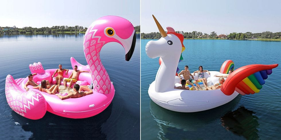 These Gigantic Pool Floats Fit Up To Six People
