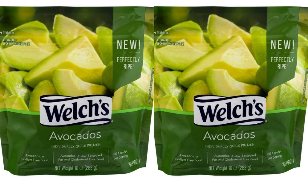 Welch's Frozen Avocados Are Available In Grocery Stores & They're A Budget Game-changer