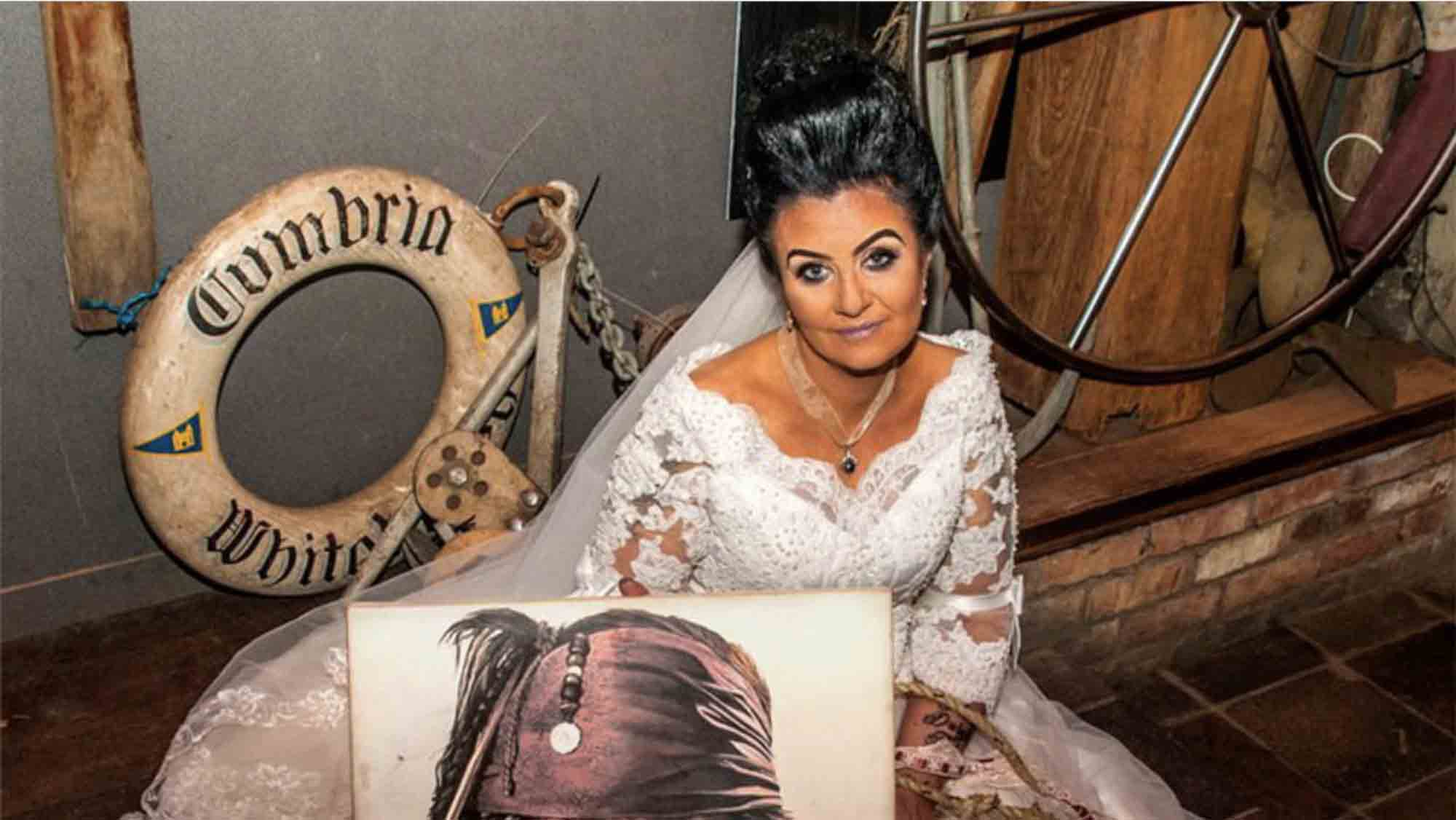 Woman Who Married A 300-Year-Old Pirate Ghost Reveals They're Splitting Up