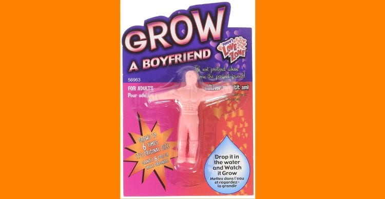 Given up on men? Never fear, Grow A Boyfriend is here!