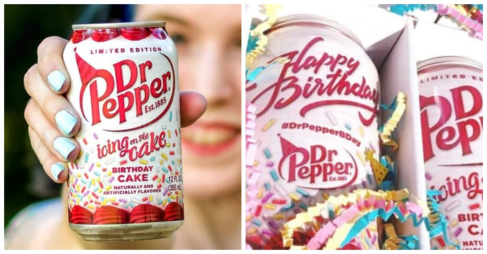 Birthday Cake-Flavored Dr Pepper Exists, And Here's How You Can Get It