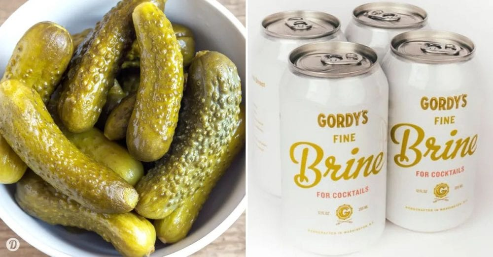 Canned Pickle Juice Is Now A Thing, So You Can Stop Drinking It Straight From The Jar