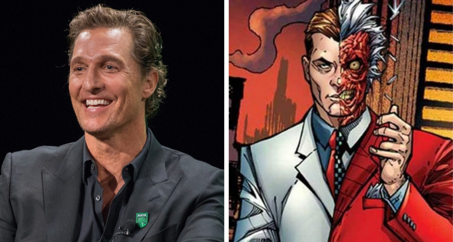 Matthew Mcconaughey May Be Cast As Two-face In The Batman