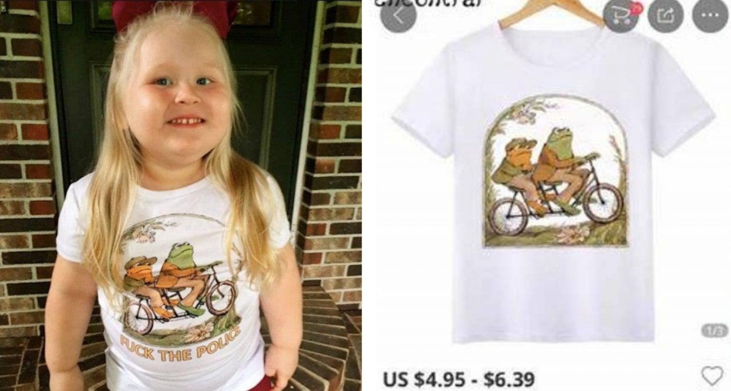 Online Shopping Gone Hilariously Wrong: Mom Orders T-shirt For Her Toddler And Receives Something Hilariously Inappropriate Instead