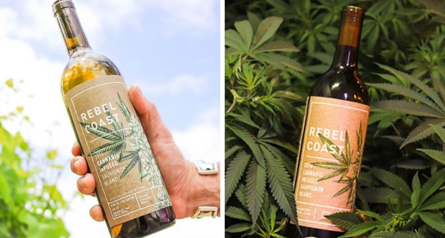 Try A Unique Tipple – Cannabis-infused Non-alcoholic Wine!