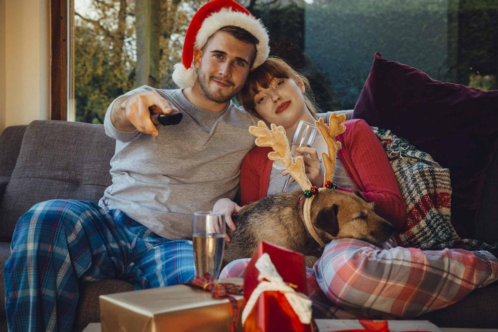 Experts Say Happiest Couples Watch Christmas Movies Together