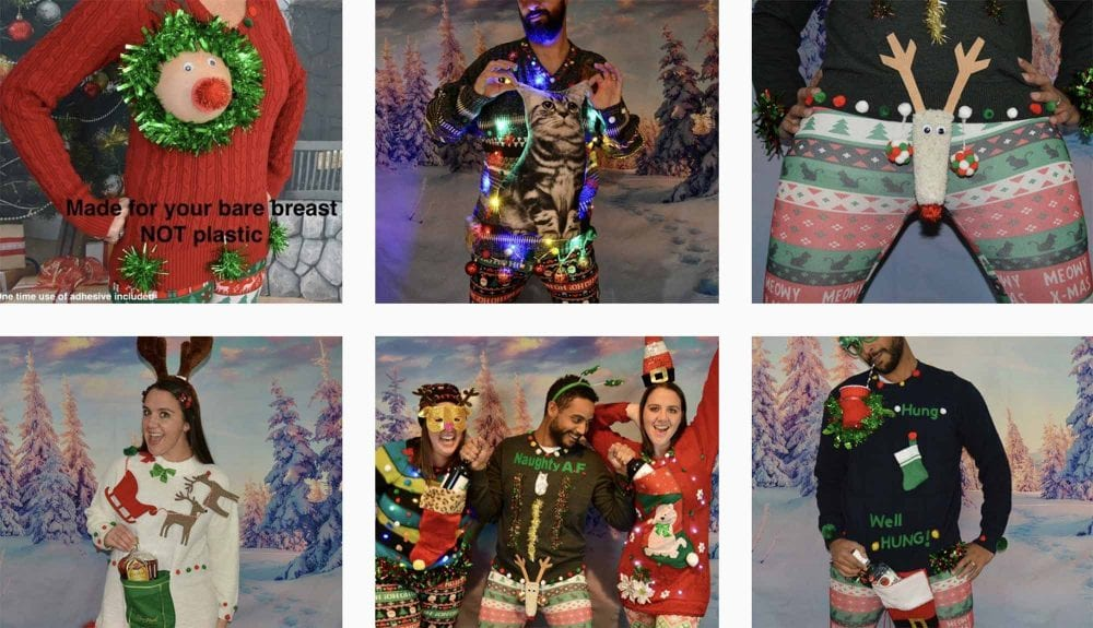 Get Yourself A Reindeer Boobs Christmas Sweater, It's Trending!