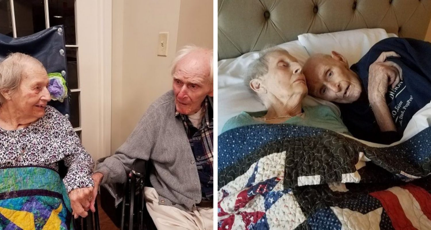 Couple Who Served In Wwii Together, Married For 70 Years, Dies On Same Day
