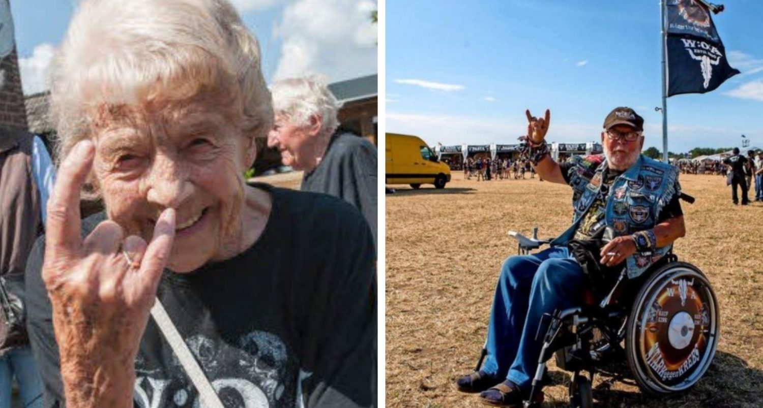 These 2 Elderly Dudes Escaped A Nursing Home To Attend World's Biggest Heavy Metal Concert