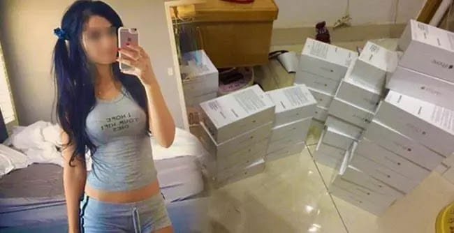 A Chinese woman who sold 20 iPhone 7 bought by her 20 boyfriends to buy her dream house at a countryside
