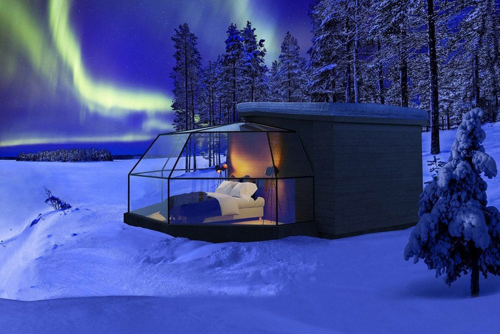 Glass Igloos: A Unique Way to Enjoy Viewing the Northern Lights