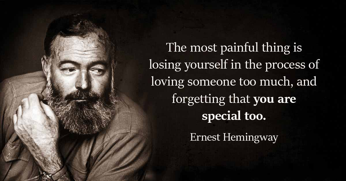 Inspirational Hemingway Quotes To Get You Through This Week