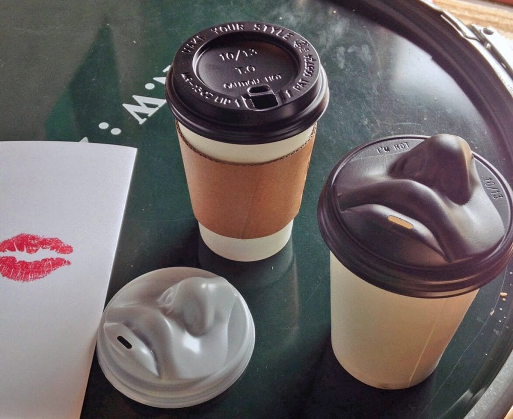 Singles, The Kiss Cup Coffee Lid Is Finally Here