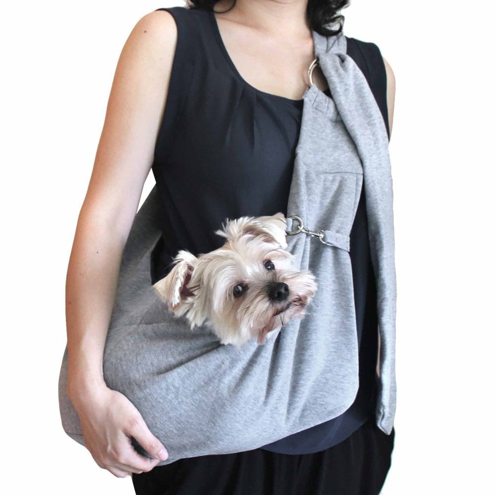 I Carry My Dog In A Pet Sling Career, And I Won't Apologize For It!