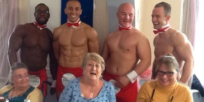 Retirement Home Hires Male Strippers To Serve Dinner To Residents
