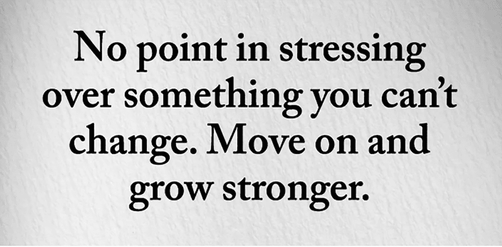 You Have To Grow Stronger To Move On Upwards