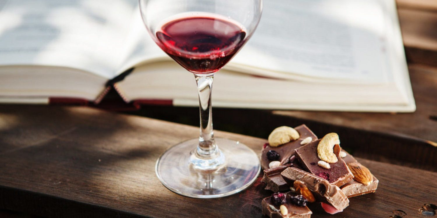 study claims eating chocolate and drinking red wine could help prevent aging