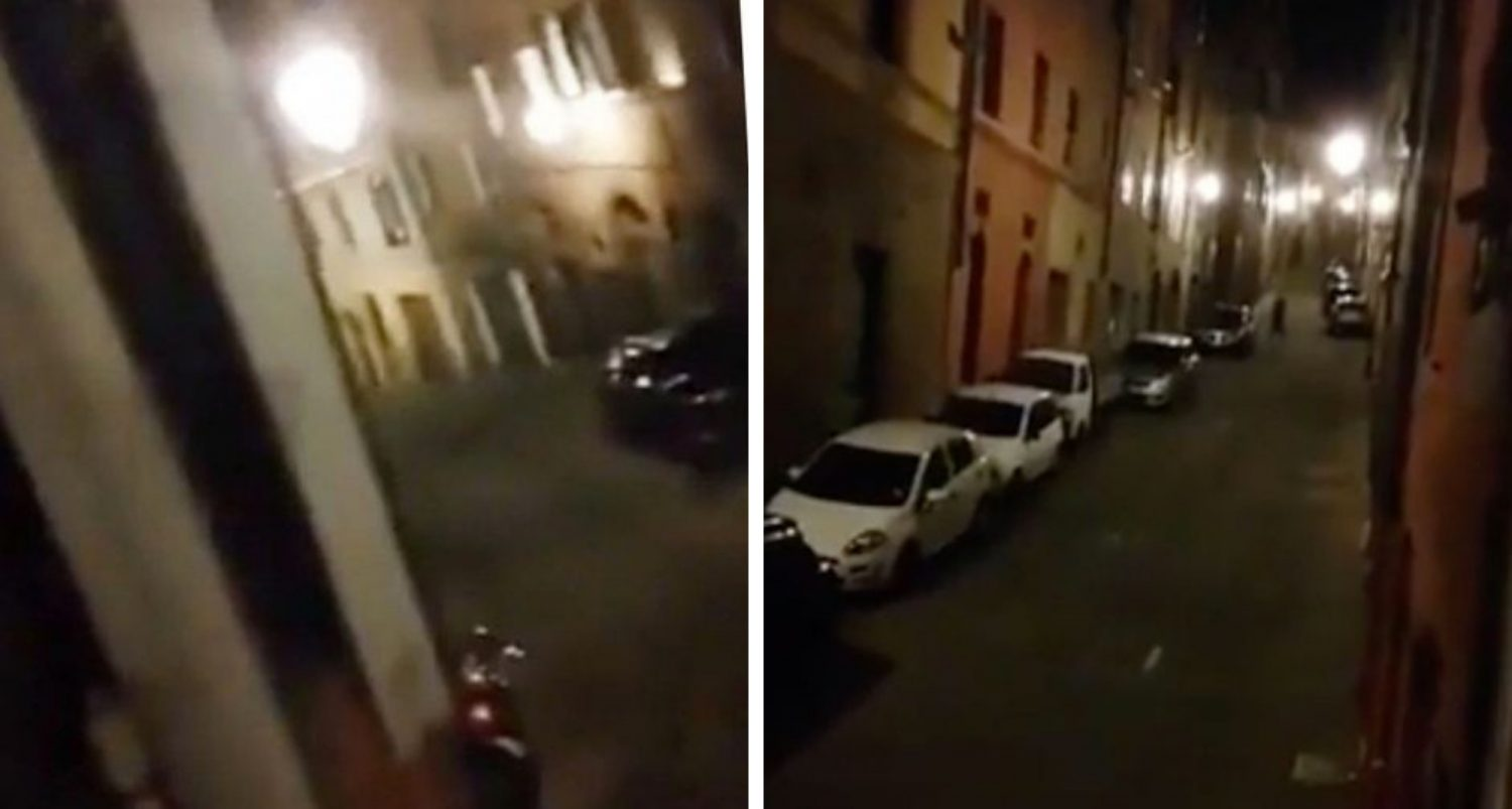 Coronavirus: Deserted Italian Street Rings Out With Song As People Lean Out Of Windows To Sing Together During Lockdown