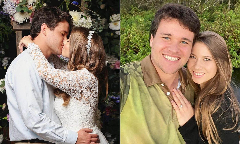 bindi irwin gets married at australia zoo with no guests, hours before coronavirus quarantine began