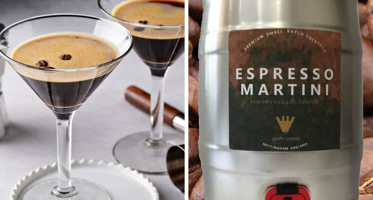 You Can Get A Whole Keg Of Espresso Martini On Amazon