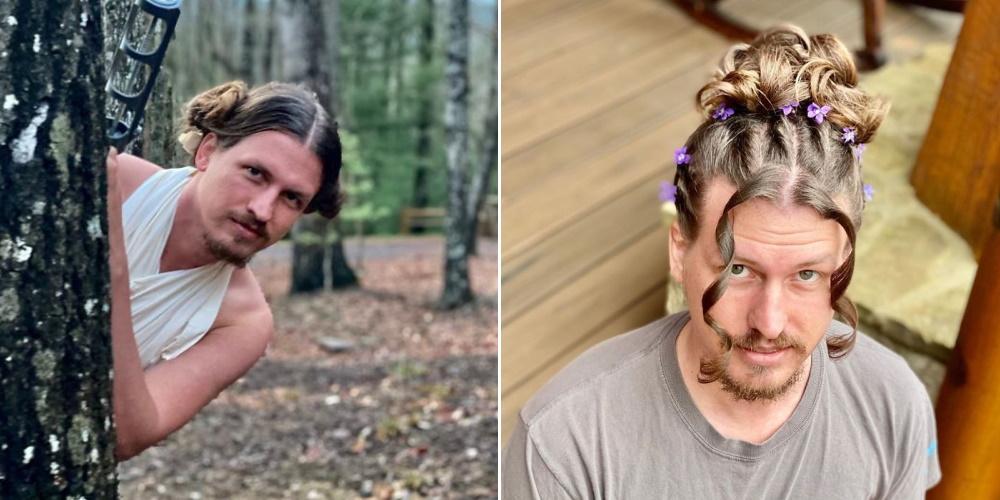 Boyfriend Lets His Hairstylist Girlfriend Experiment On Him During Quarantine