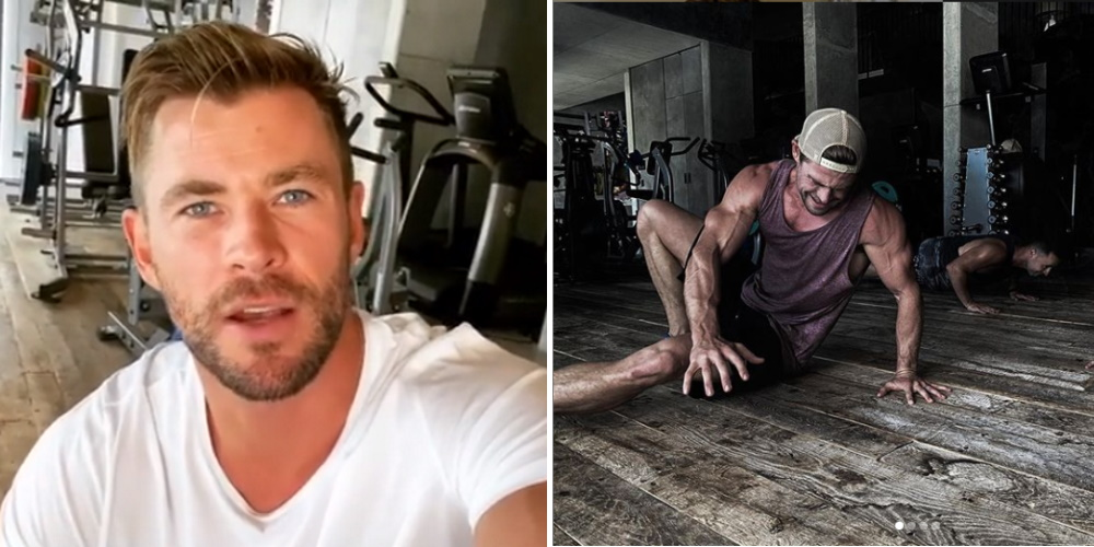 Chris Hemsworth Is Doing Free Online Workout Classes To Keep You Fit While You're Stuck Inside