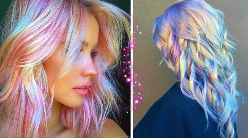 holographic hair is the the hottest (and most magical) hair trend of 2020