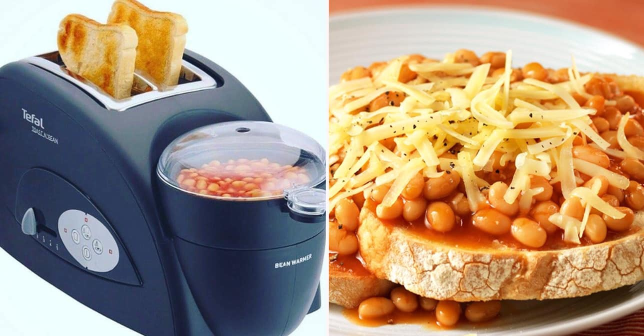 you can now buy a beans on toast maker