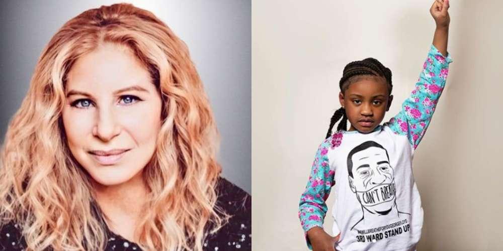 Barbra Streisand Makes George Floyd's Daughter Gianna A Disney Shareholder