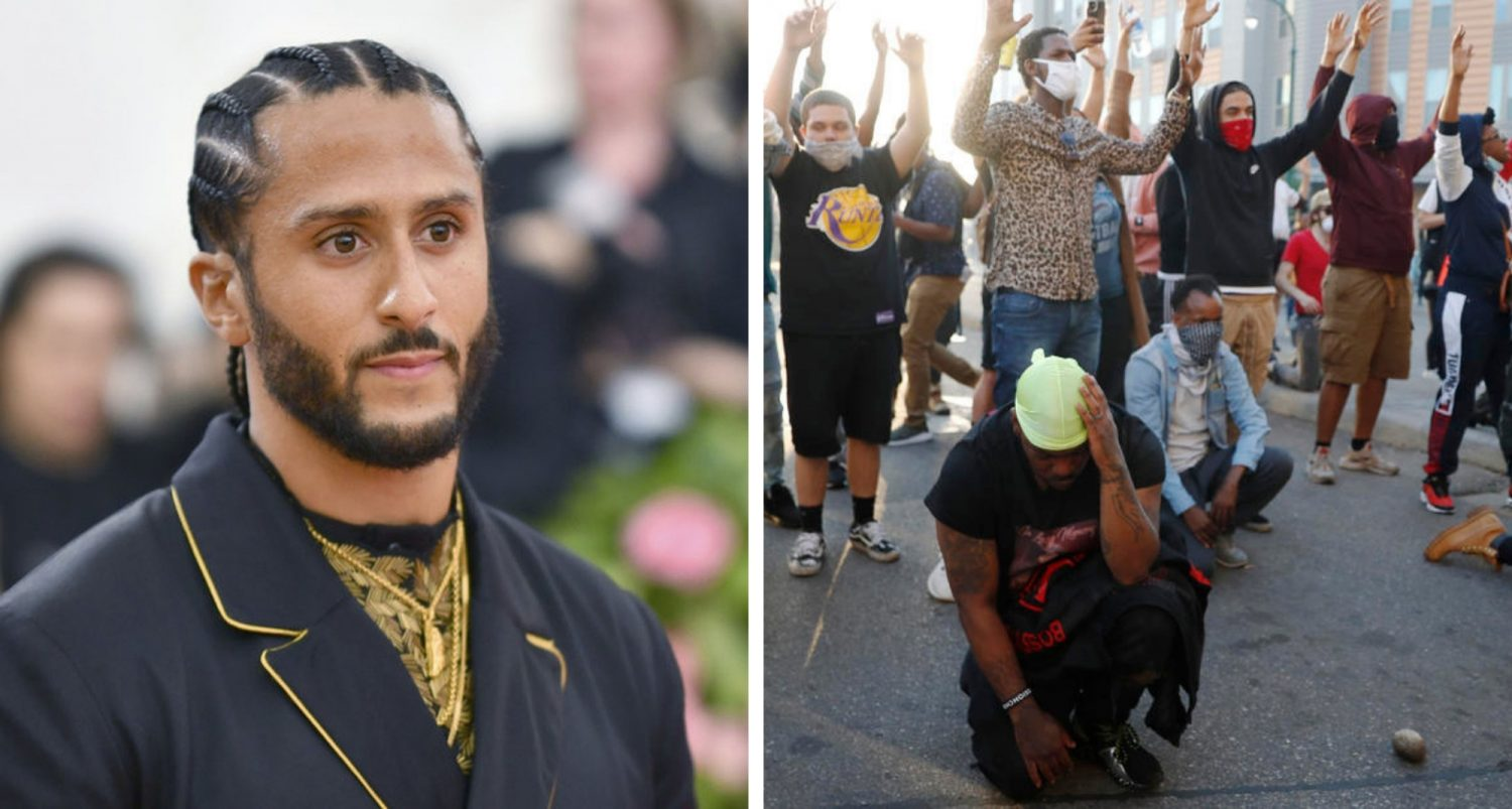 Colin Kaepernick Launches Legal Defense Fund To Pay Legal Bills For Minneapolis Protesters