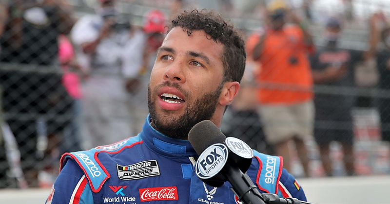 Bubba Wallace Booed At Bristol All-Star Race Qualifier, Angry Internet Says 'NASCAR Fans Suck'