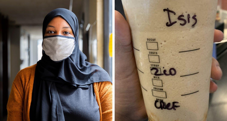 Minnesota Starbucks Barista Allegedly Wrote Isis On Muslim Woman's Drink