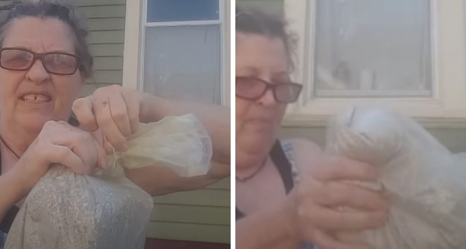 Wife Dumps Ashes Of Her Abusive Husband In The Trash [video]