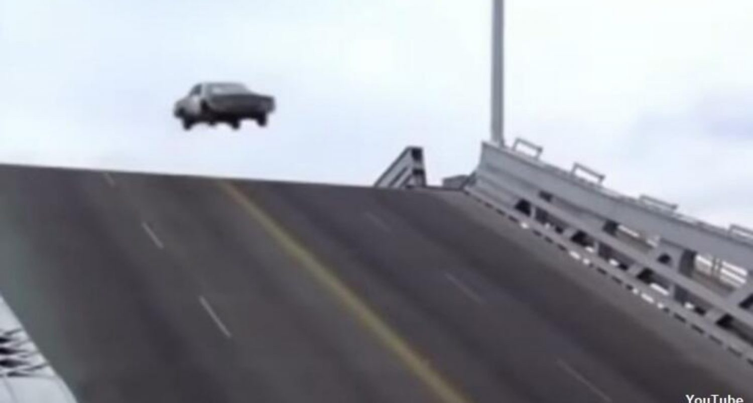 Video: Detroit Driver Arrested After Successfully Jumping Over Drawbridge