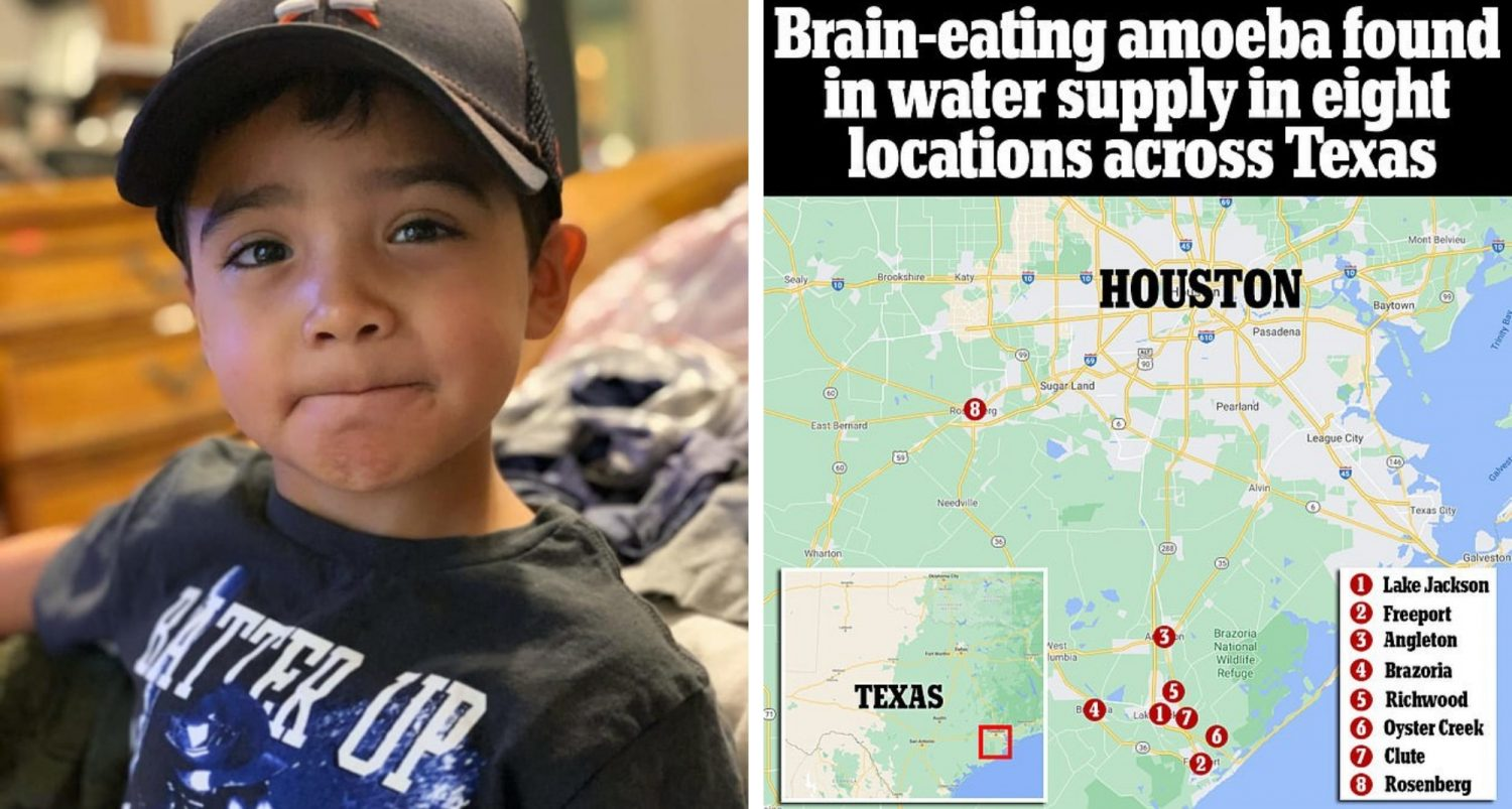 Disaster Declared In Texas City After A Six-year-old Boy Dies From A Brain-eating Amoeba Found In Water Supply