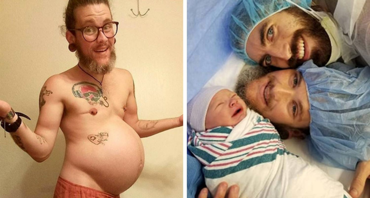 Transgender Man Told He Couldn't Get Pregnant And Welcomes A Son